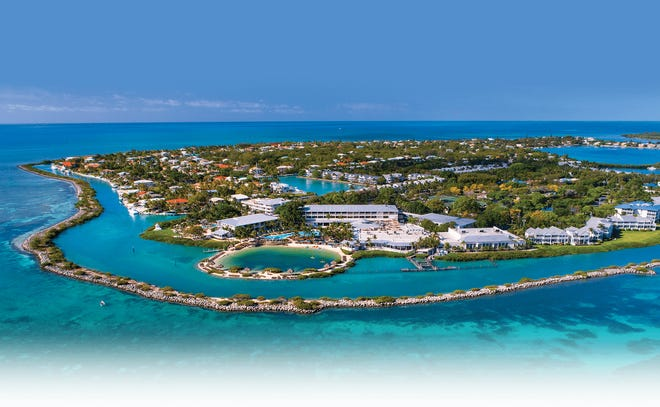 Hawks Cay Resort is located halfway between Key Largo and Key West on small, secluded Duck Key.