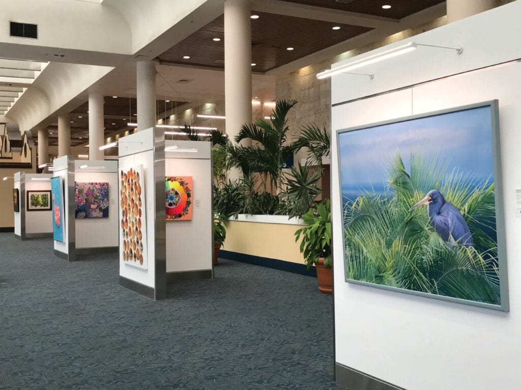 Art at Palm Beach International Airport includes photographs, paintings and sculptures. COURTESY PHOTO