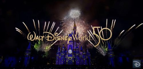 Disney Encourages Guests to Book a Vacation For Disney World's 50th Now!