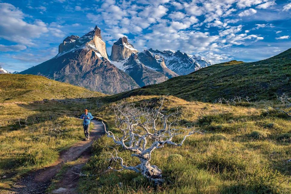 Hiking in Patagonia with Wilderness Travel, voted one of the world's best Tour Operators