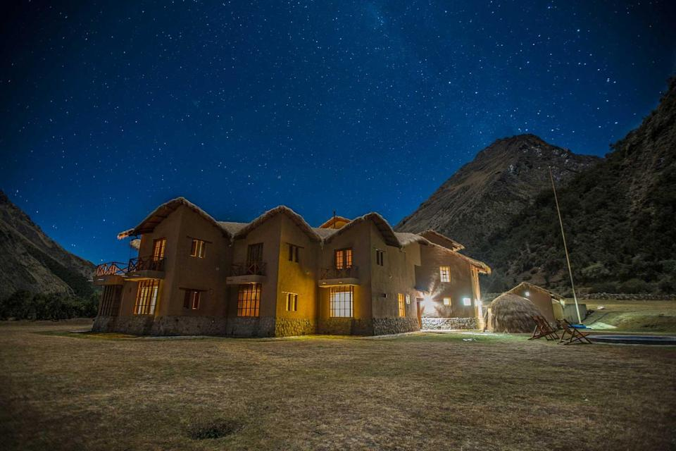 A lodge from Mountain Lodges of Peru, voted one of the world's best Tour Operators