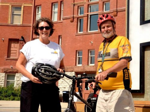 Cyclists from Stratford and beyond gear up for Sunday tour