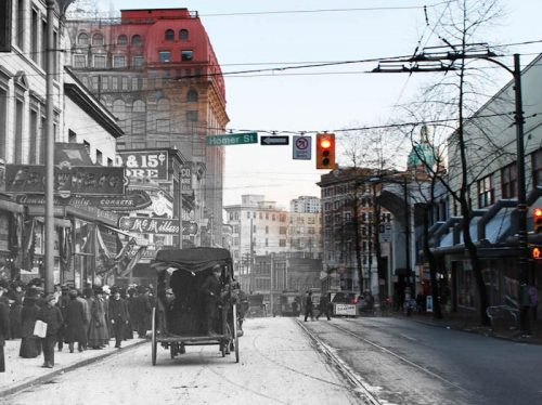 Travel back in time with this free history app in Vancouver